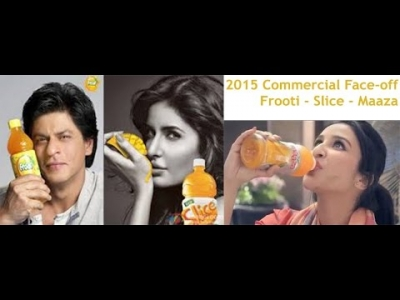 Maaza vs Frooti Vs Slice