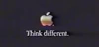 Steve Jobs Think different