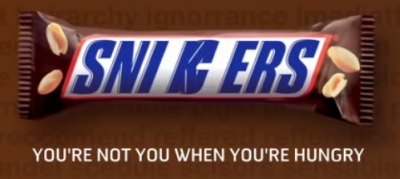 Snickers Google Misspellings