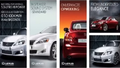 Digital Marketing Campaign with Lexus