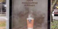 Free coffee campaign